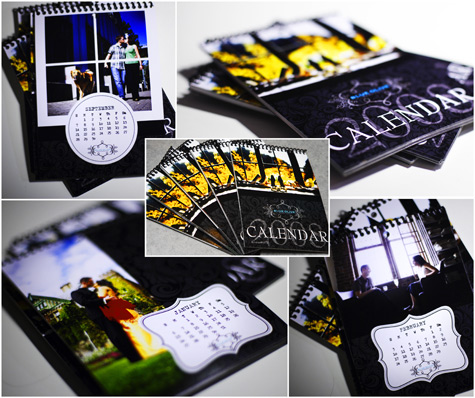 wedding photography calendars