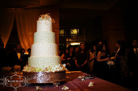 Culinary Capers Wedding Cake
