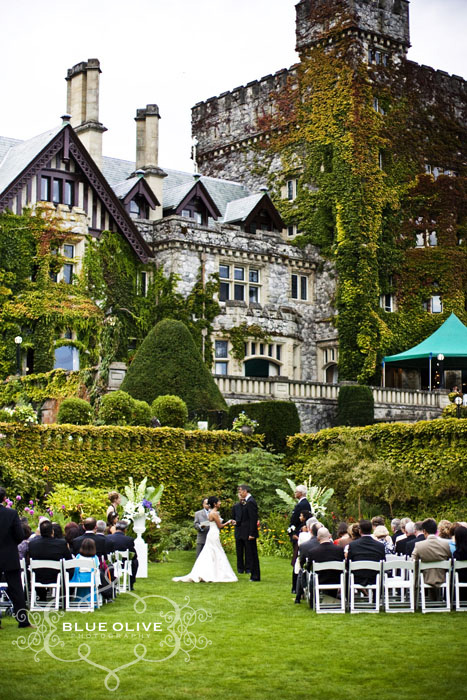 Hatley Castle Wedding