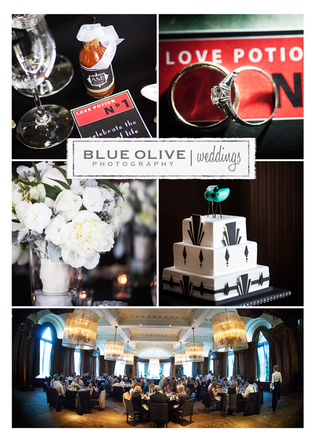 Art Deco Vancouver Wedding